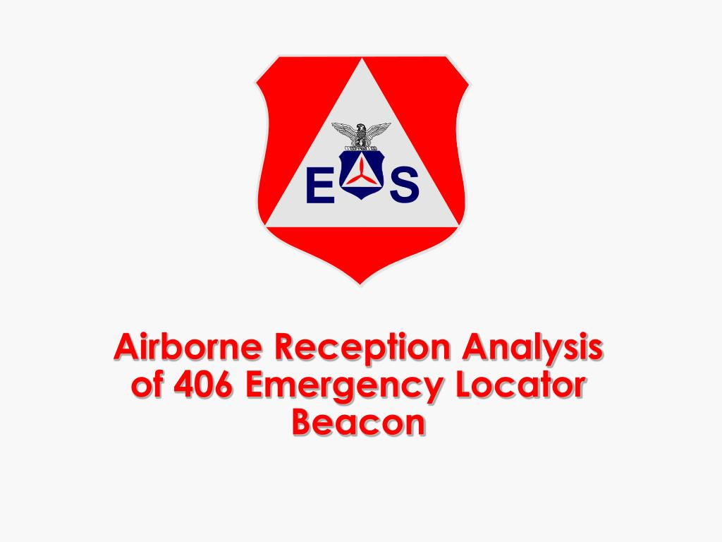 airborne reception analysis of 406 emergency locator beacon l.