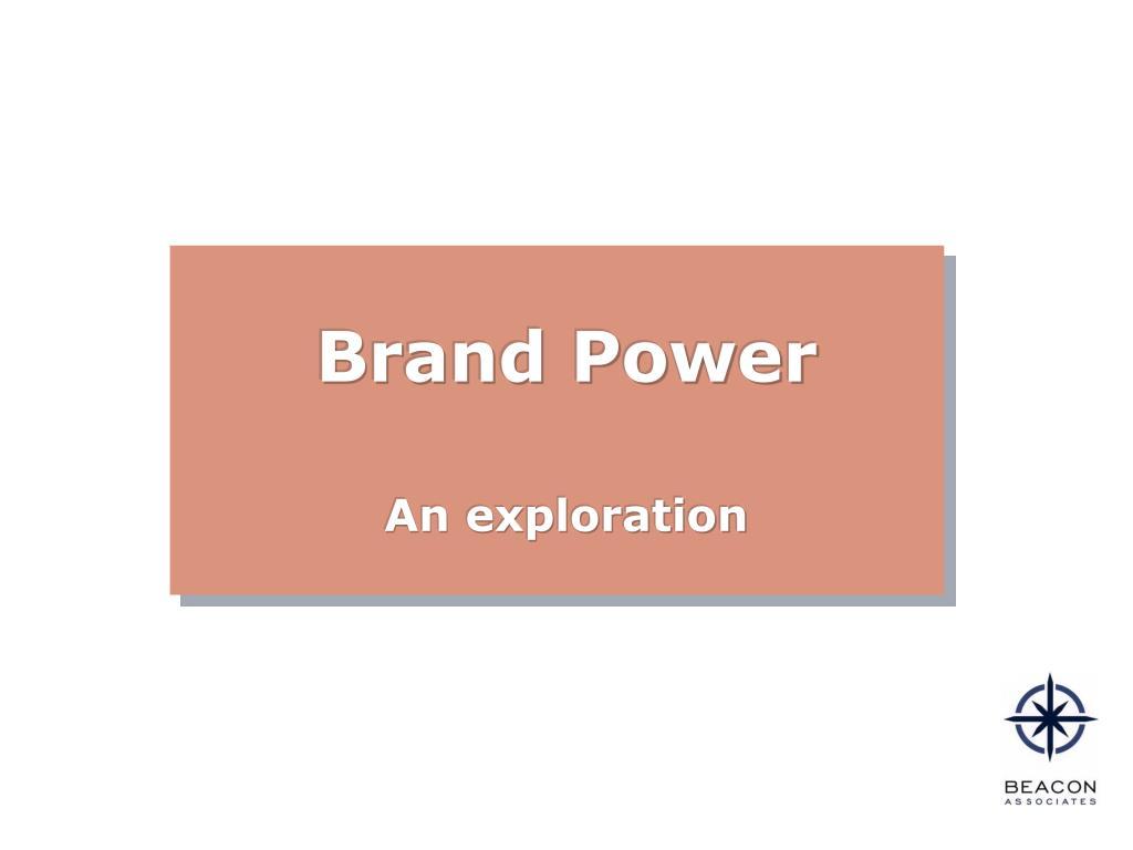 brand power l.