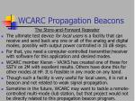 wcarc propagation beacons10
