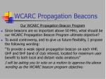 wcarc propagation beacons11
