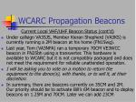 wcarc propagation beacons13