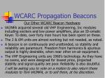 wcarc propagation beacons14