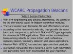 wcarc propagation beacons15