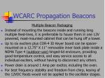 wcarc propagation beacons22