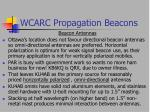wcarc propagation beacons24