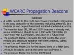 wcarc propagation beacons34