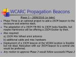 wcarc propagation beacons37