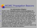 wcarc propagation beacons39