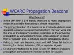 wcarc propagation beacons4