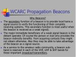 wcarc propagation beacons5