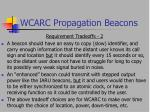 wcarc propagation beacons9
