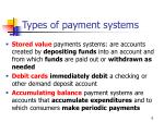 types of payment systems6