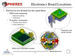 electronics board locations