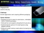 biometric applications