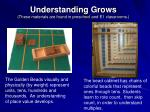 understanding grows these materials are found in preschool and e1 classrooms