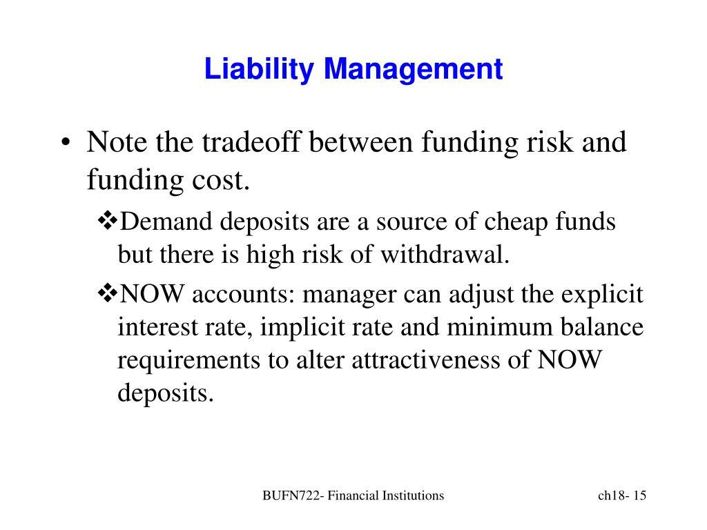 Liability Management
