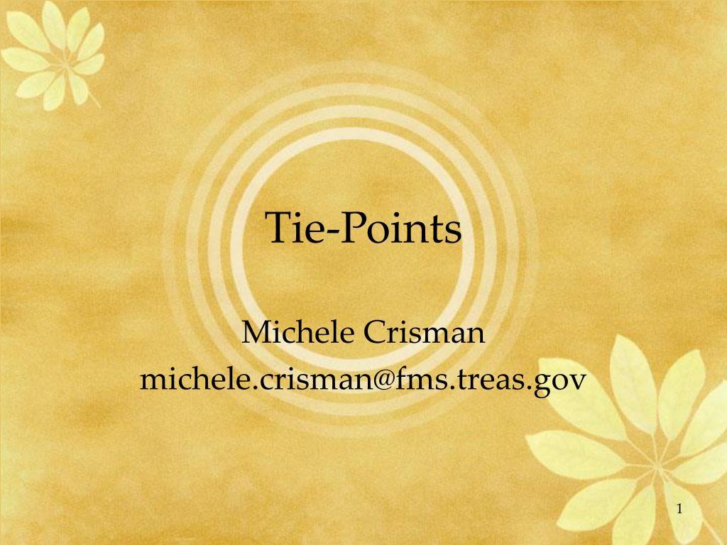 tie points l.
