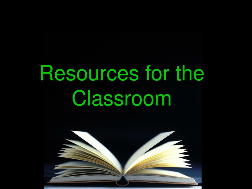 Resources for the