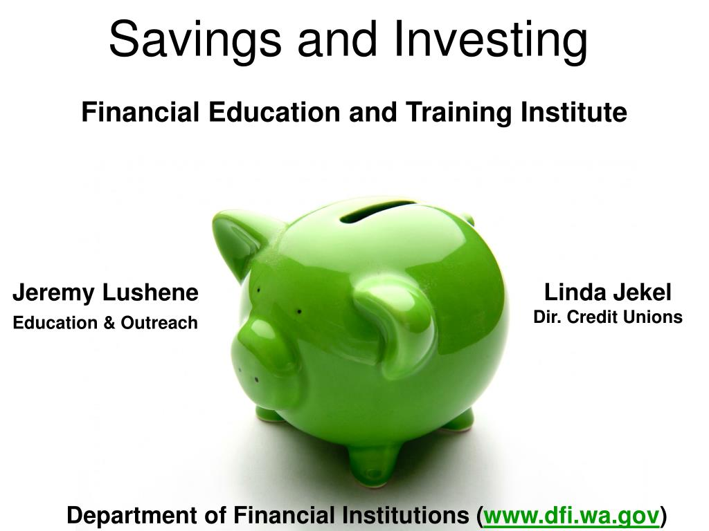 savings and investing l.