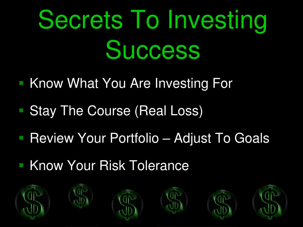 Secrets To Investing Success