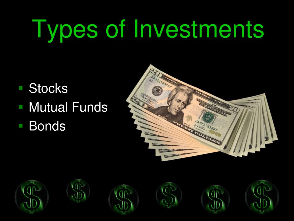 Types of Investments