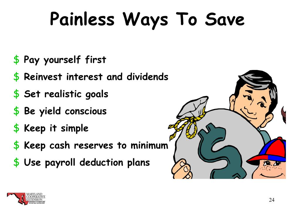 Painless Ways To Save