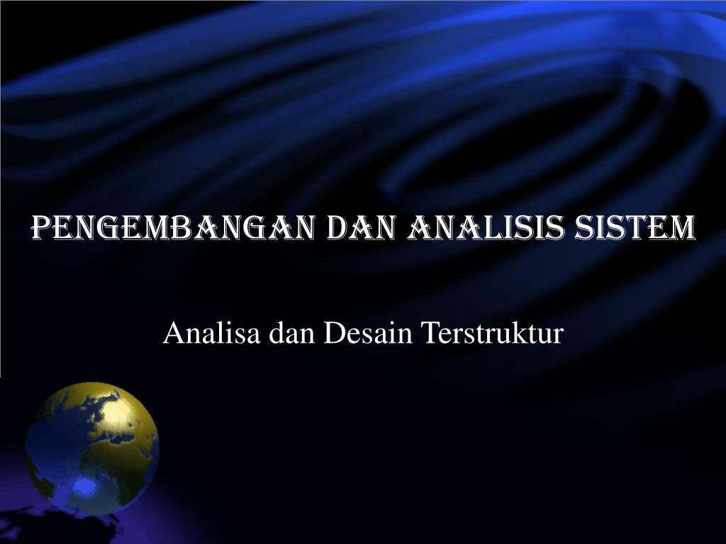 pengembangan dan analisis sistem l.