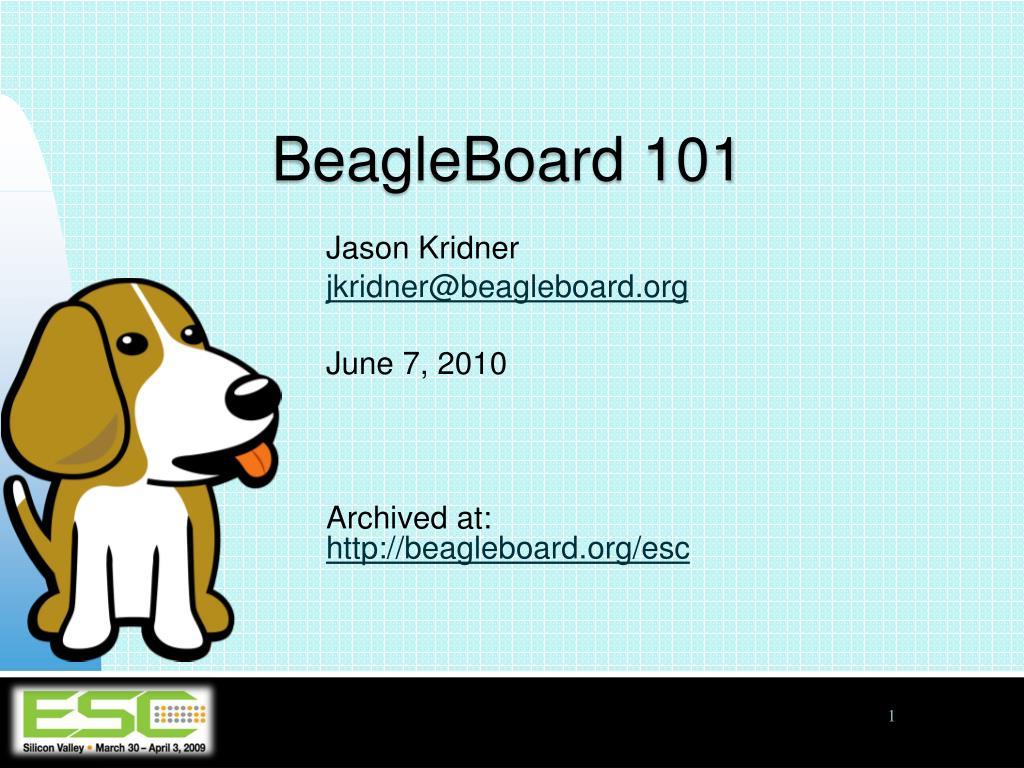 beagleboard 101 l.