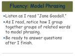 fluency model phrasing11
