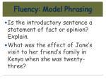 fluency model phrasing12