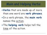 main and helping verbs30