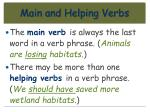 main and helping verbs32