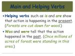 main and helping verbs33
