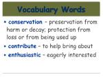 vocabulary words22