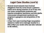 legal case studies cont d