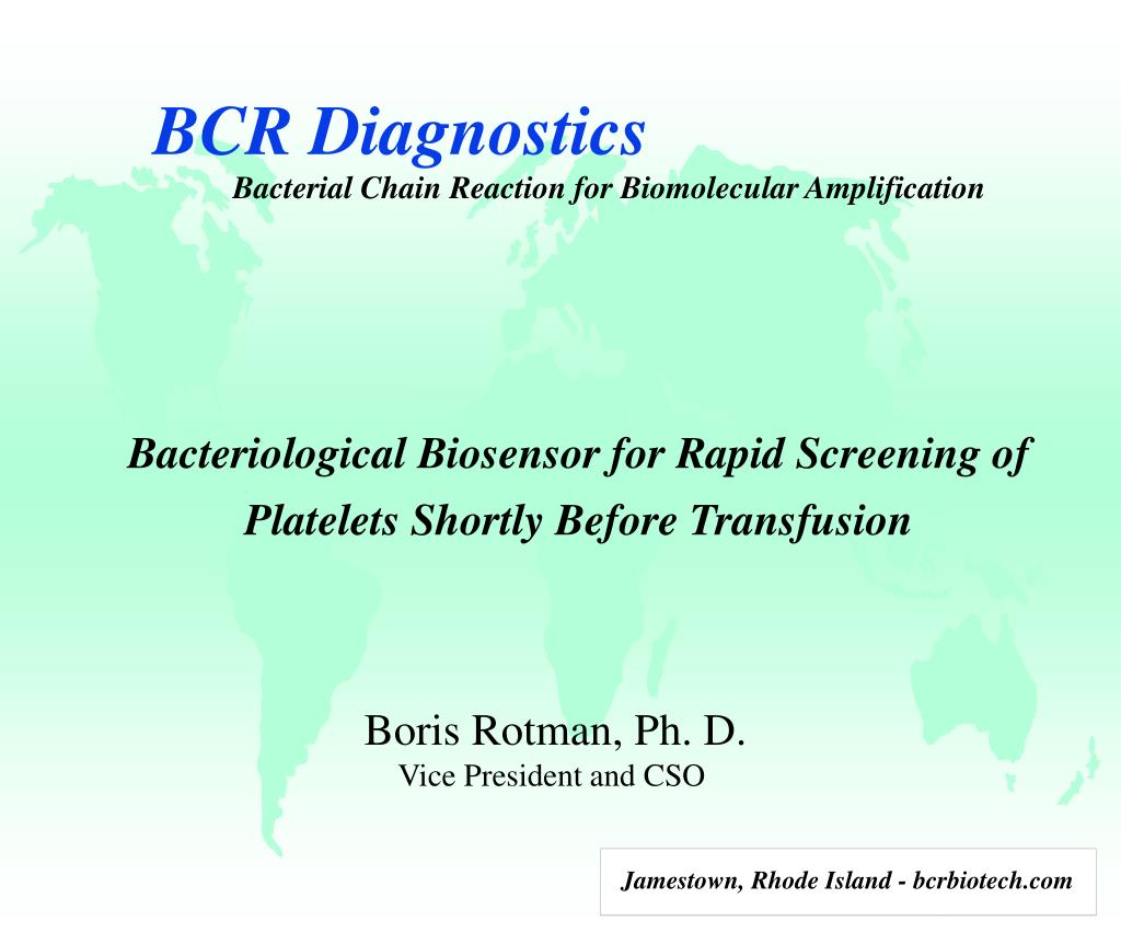 bcr diagnostics l.