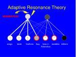 adaptive resonance theory158