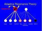 adaptive resonance theory160