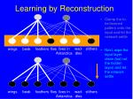 learning by reconstruction147