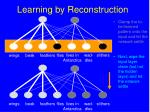 learning by reconstruction148