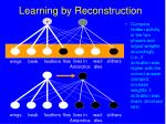learning by reconstruction150