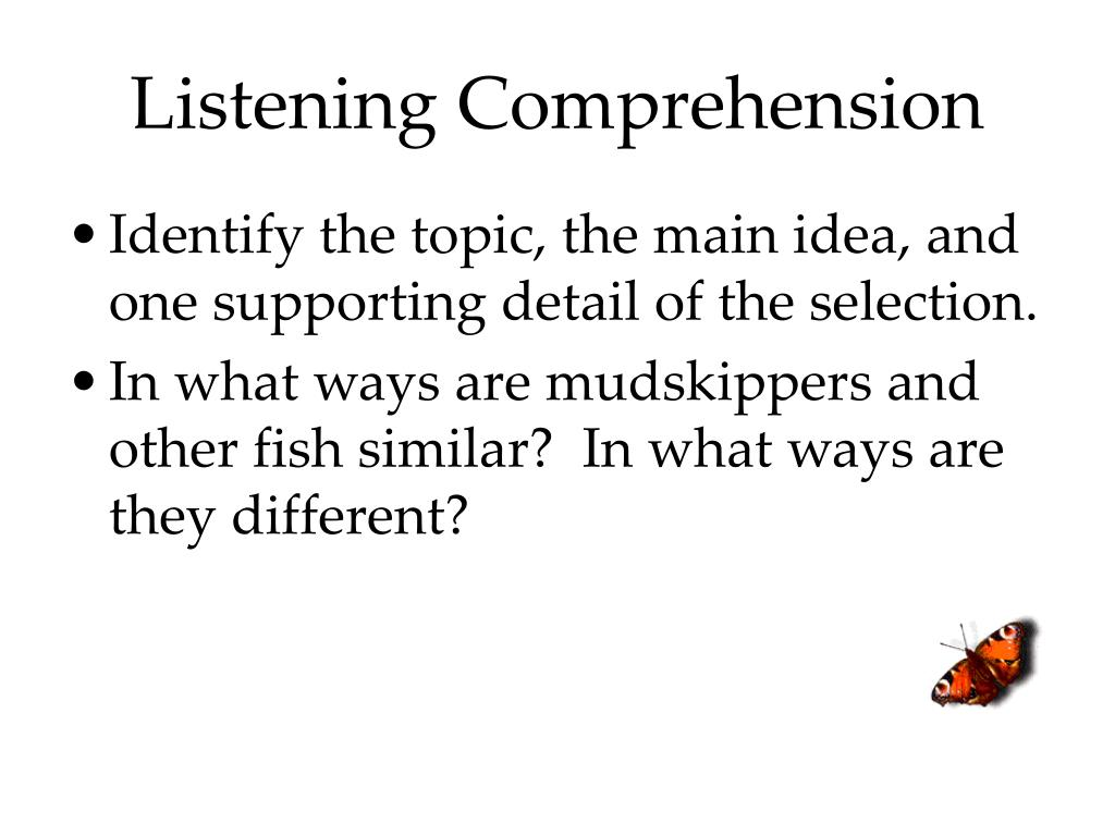 dissertations listening comprehension Ohiolink electronic theses & dissertations center search all fields analysis of the wm and listening comprehension relation revealed that it was the.