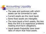 accounting liquidity