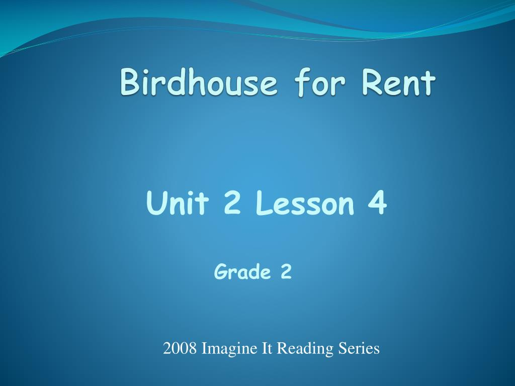 birdhouse for rent l.