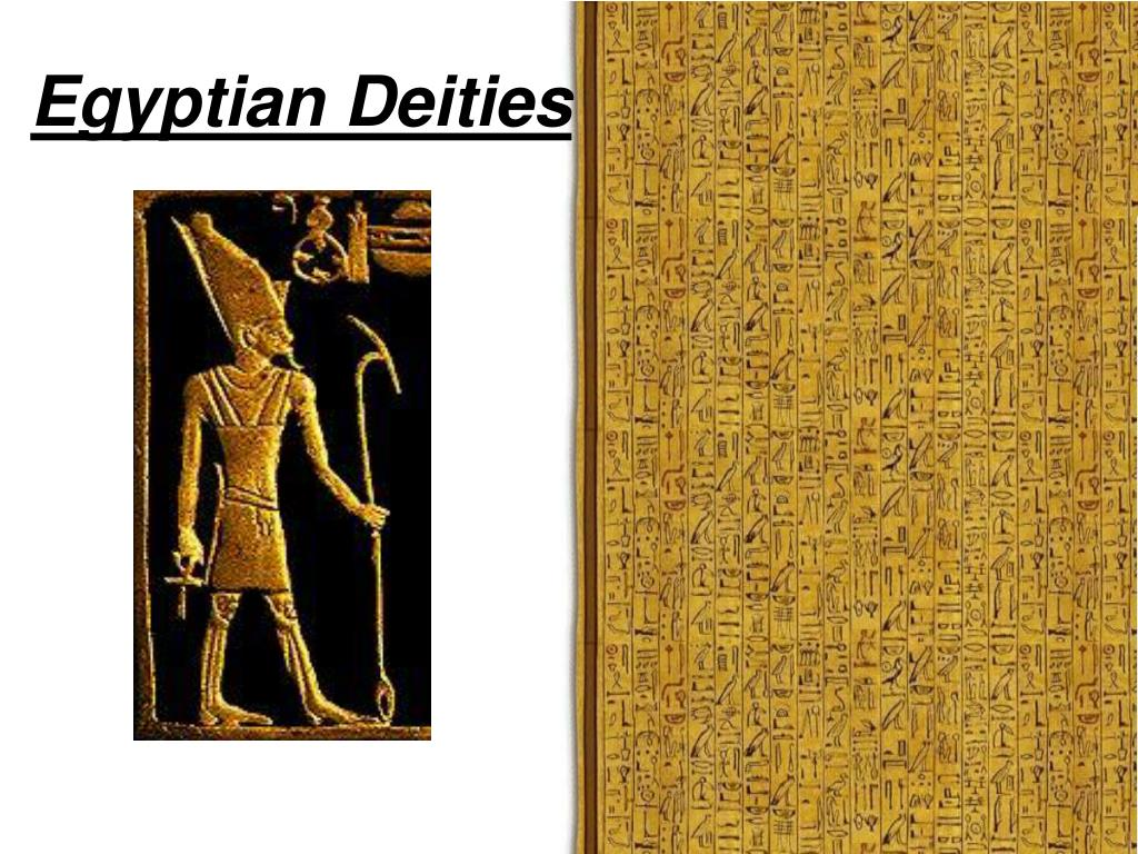 egyptian deities l.