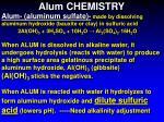 alum chemistry