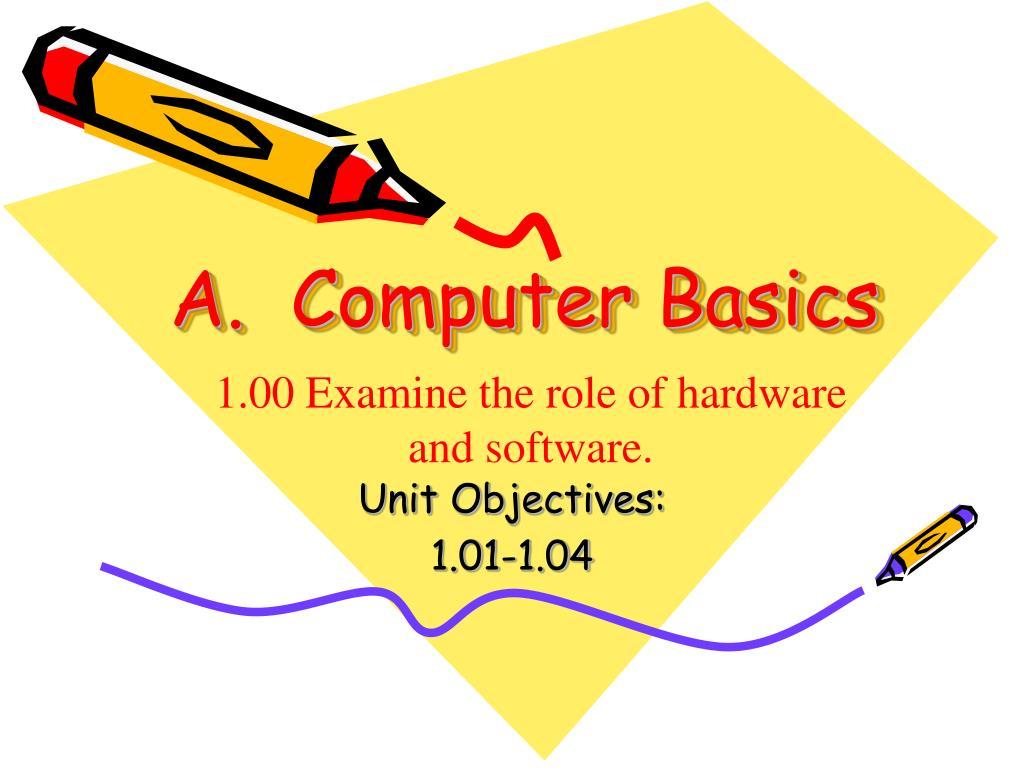 a computer basics l.