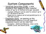 system components13