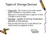 types of storage devices22