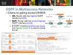 ospf in multiaccess networks35